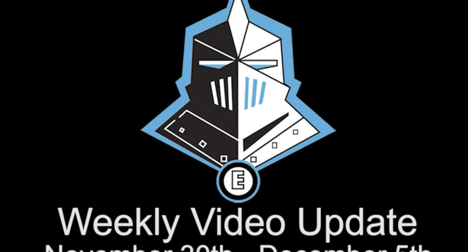 Weekly Video Update 11/30-12/5