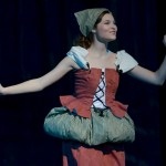"""Sophomore Savanna Worthington sings """"In My Own Little Corner"""" as Cinderella during the musical. Photo by Abby Blake"""