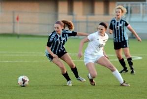 Gallery: Girls' Varsity Soccer vs. Olathe Northwest
