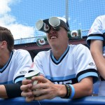Junior Jake Ledom views the game through a different perspective. Photo by Joseph Cline