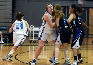 Gallery: Freshman Girls Basketball vs Olathe Northwest