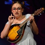 Gertrude McFuzz, played by Senior Kylie Ledford, sings a love song to Horton. Photo by Ellen Swanson