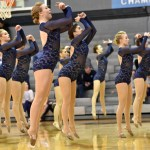 Sophomore Hannah Goettsch, dances the Lancer Dancer's lyrical dance routine for the second to last time before their national competition. Photo by Lucy Morantz