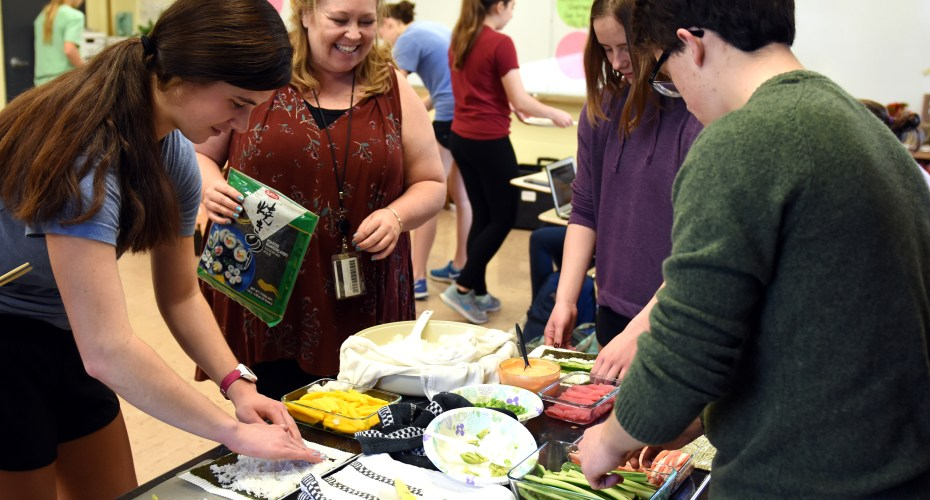 Gallery: IB English Sushi Party