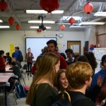 Chinese club's New Year celebration was opened up to all students after school on Feb. 2. Photo by Annie Lomshek