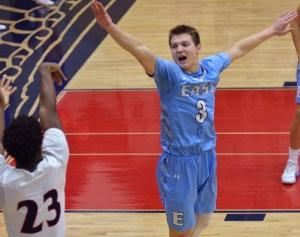 Gallery: Varsity Boys Basketball vs. Olathe North