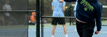 Gallery: JV Boys Tennis Match vs Shawnee Mission South