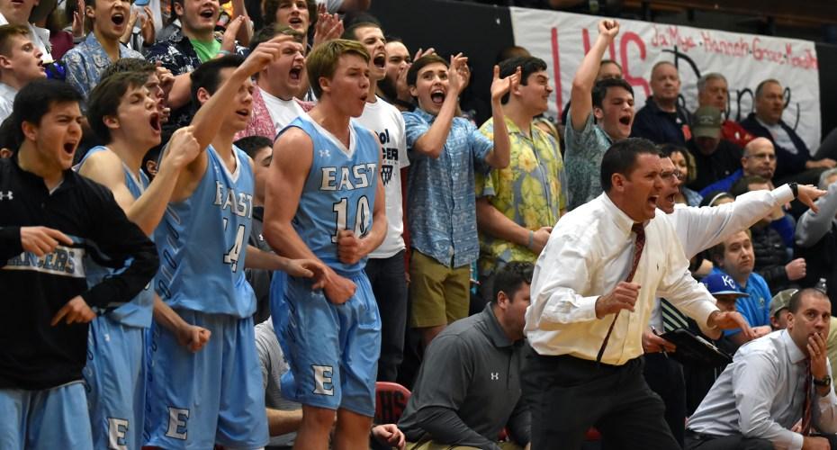 Boys' Varsity Loses 54-59 in Sub State Championship vs. Lawrence High School