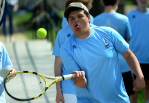 Gallery: Boys JV Tennis Match vs Bishop Miege