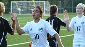 Gallery: Girls' C Team Soccer Game vs. Olathe Northwest
