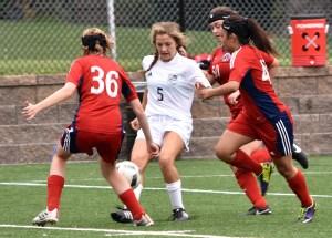 Gallery: Girls' C Team Soccer Game vs. Olathe North