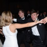 Junior John John Roney dances with his date. Photo by Ty Browning