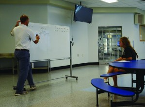 Algebra 3 Classes Use Flipped Classroom Style