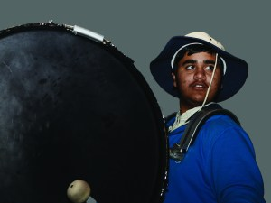 Senior Finds Identity in Drum Line