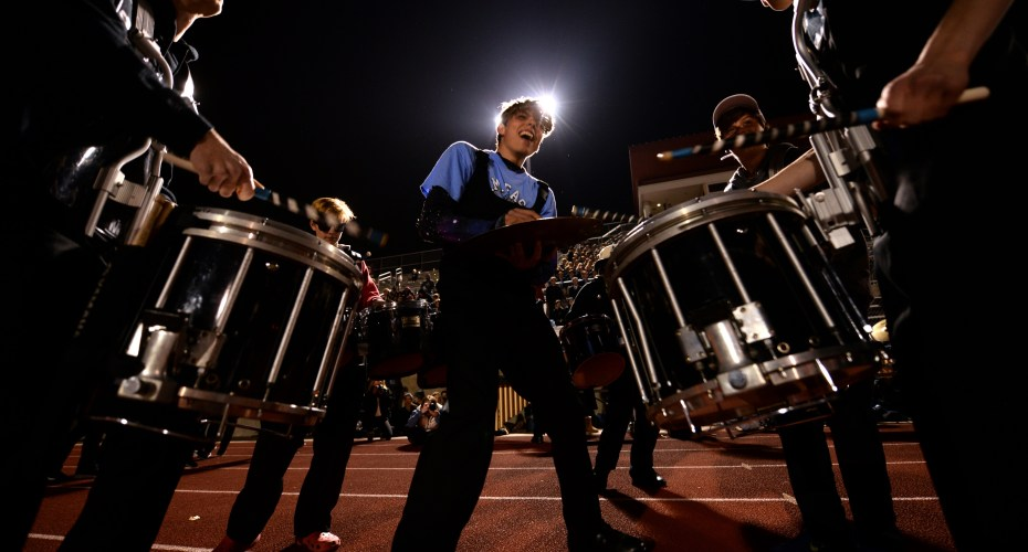 Freshman Brings New Energy to Marching Band