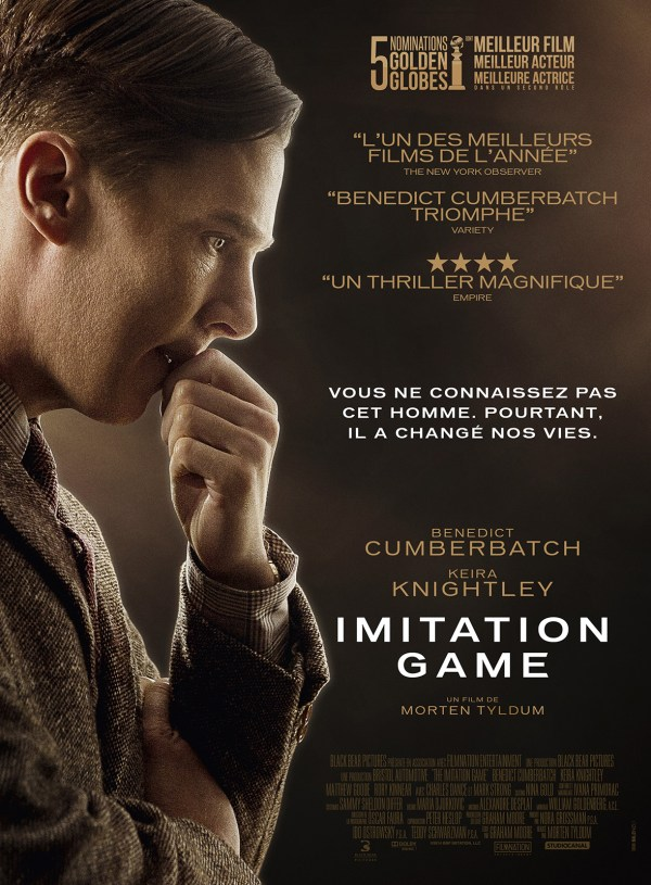 Imitation Game - affiche