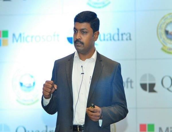 Quadra CEO Prashanth S