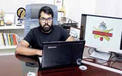 SaiKiran Gunda founded Startup Cricket League (SCL) in 2015.