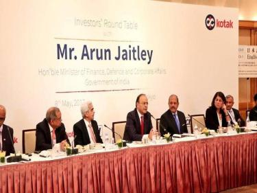 FM meets Japanese businessmen, pushes to step up investments for 'Make in India'