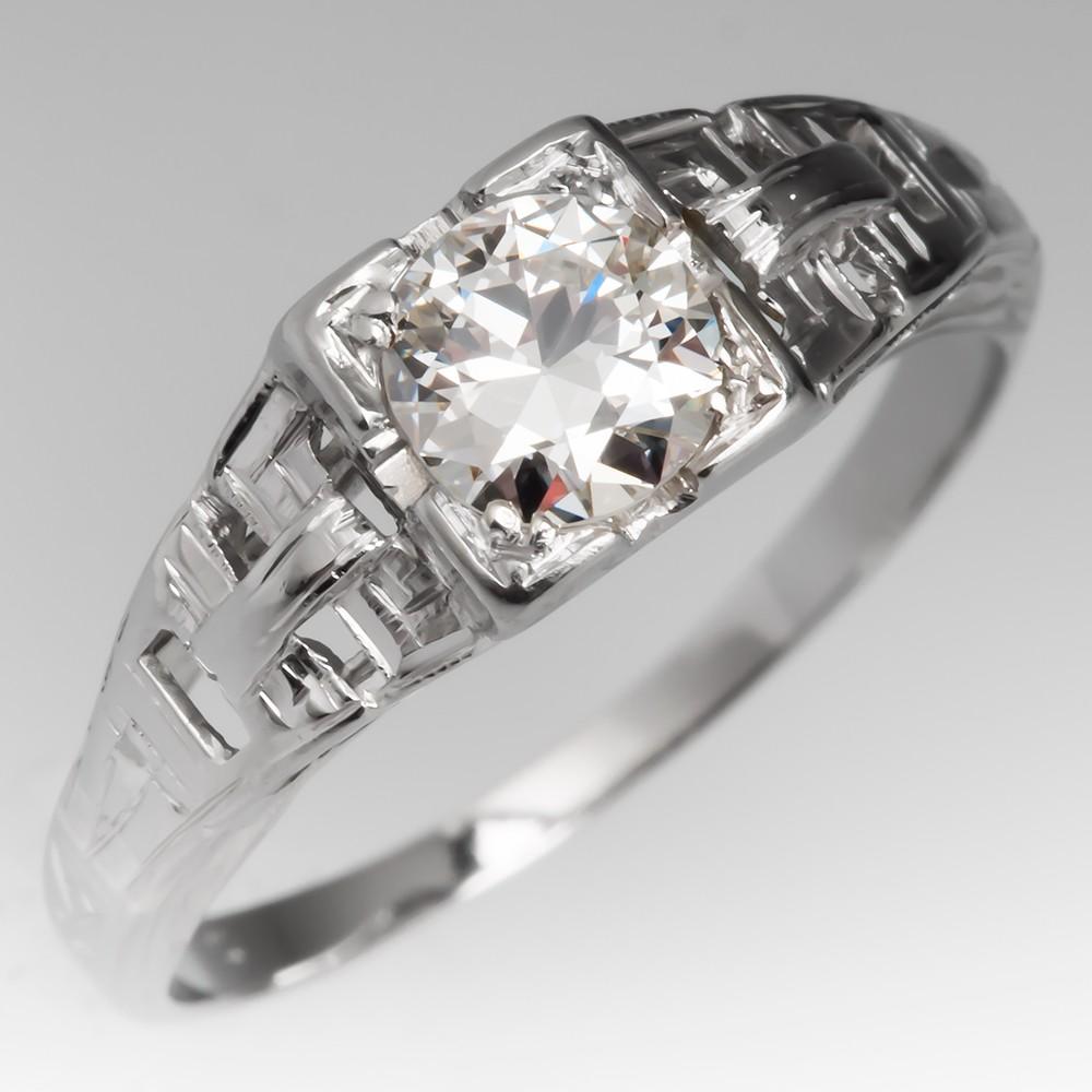 vintage engagement rings art deco wedding ring Antique Wedding Rings