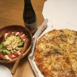 宅配ピザで、夕食を作らない幸せ