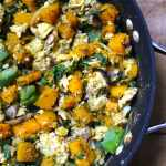 Butternut Squash Breakfast Scramble