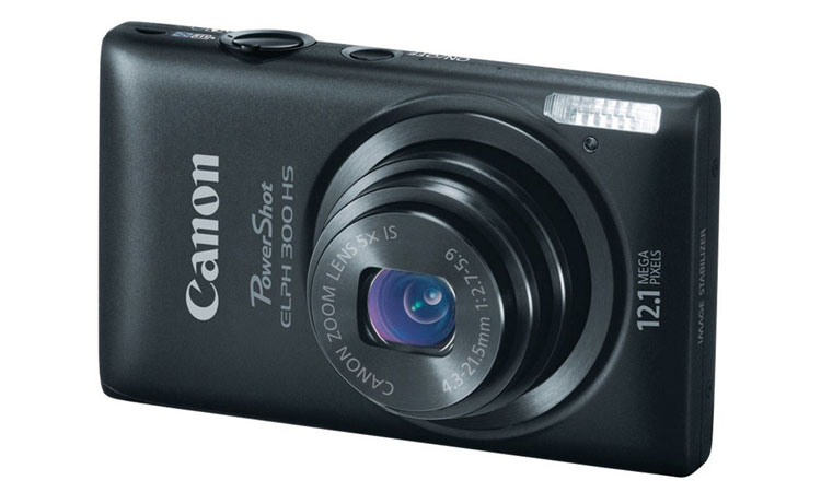 Canon PowerShot ELPH 300: Slimest Camera With Great Video Options