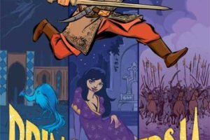 Prince of Persia: The Graphic Novel created by Jordan Mechner, written by A.B. Sina, artwork by LeUyen Pham & Alex Puvilland, color by Hilary Sycamore