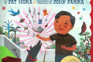 Gracias Thanks by Pat Mora, illustrated by John Parra, translation by Adriana Domínguez
