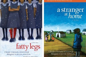 Fatty Legs and A Stranger at Home by Christy Jordan-Fenton and Margaret Pokiak-Fenton, illustrated by Liz Amini-Holmes