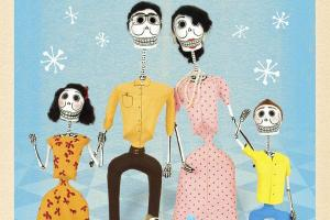 Mi Familia Calaca | My Skeleton Family by Cynthia Weill, illustrated by Jesús Canseco Zárate