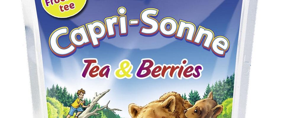 Tea & Berries – Beerenstarker Trinkgenuss mit der neuen Capri-Sonne