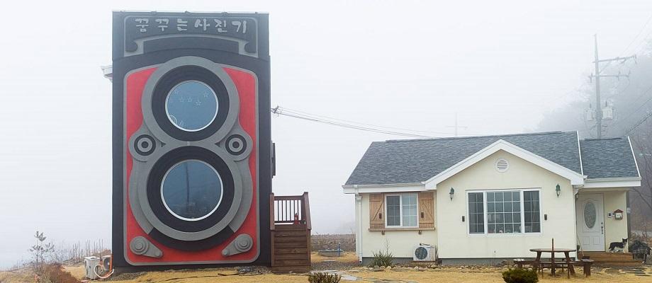 Rolleiflex-Kamera-Haus