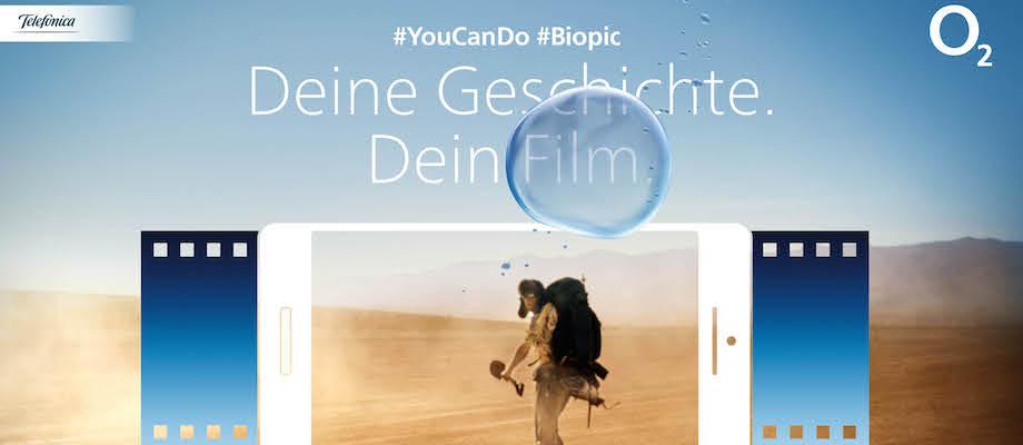 O2: Deine Geschichte. Dein Film. #YouCanDo #Biopic