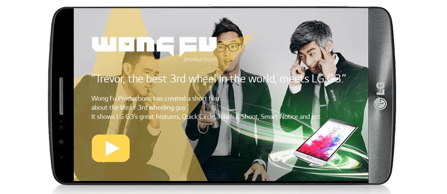LG G3 meets Wong Fu Productions