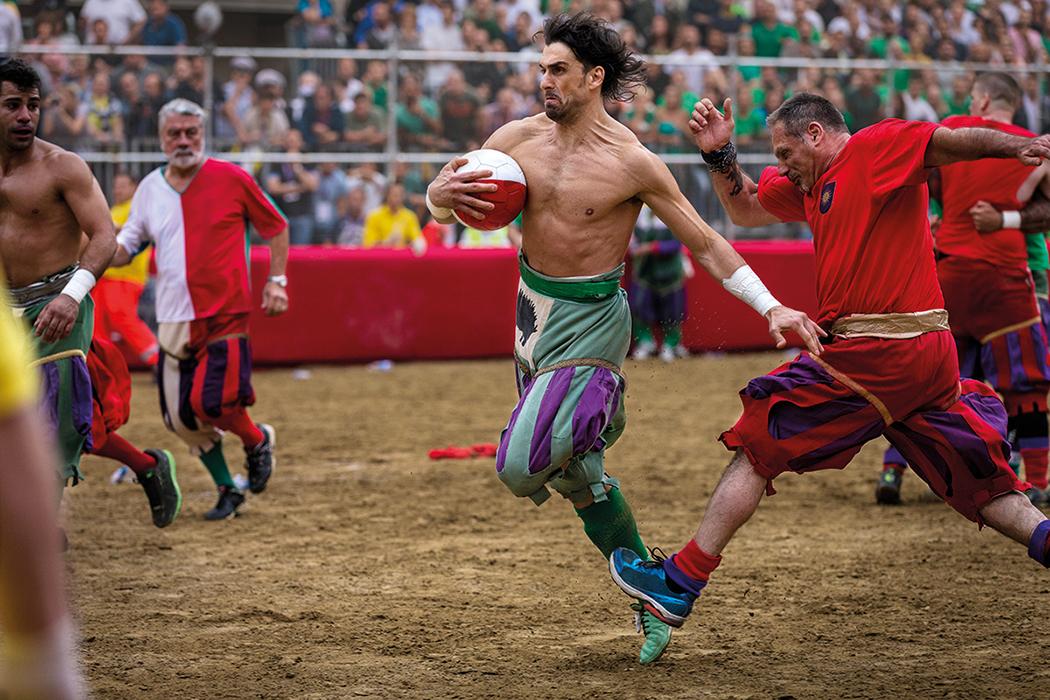 Canon Gladiator – Fußball für wahre Männer