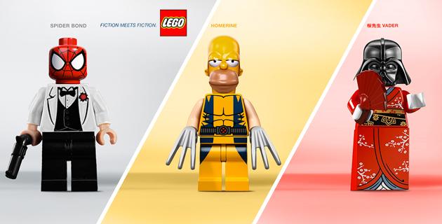 Lego – Fiction meets Fiction