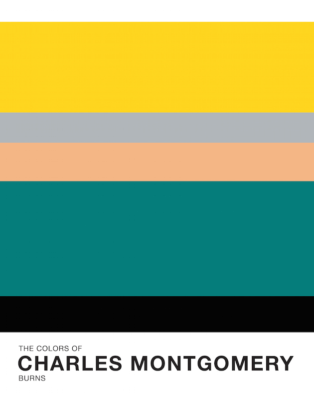 The colors of cities