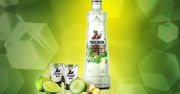 Puschkin_Moscow Mule
