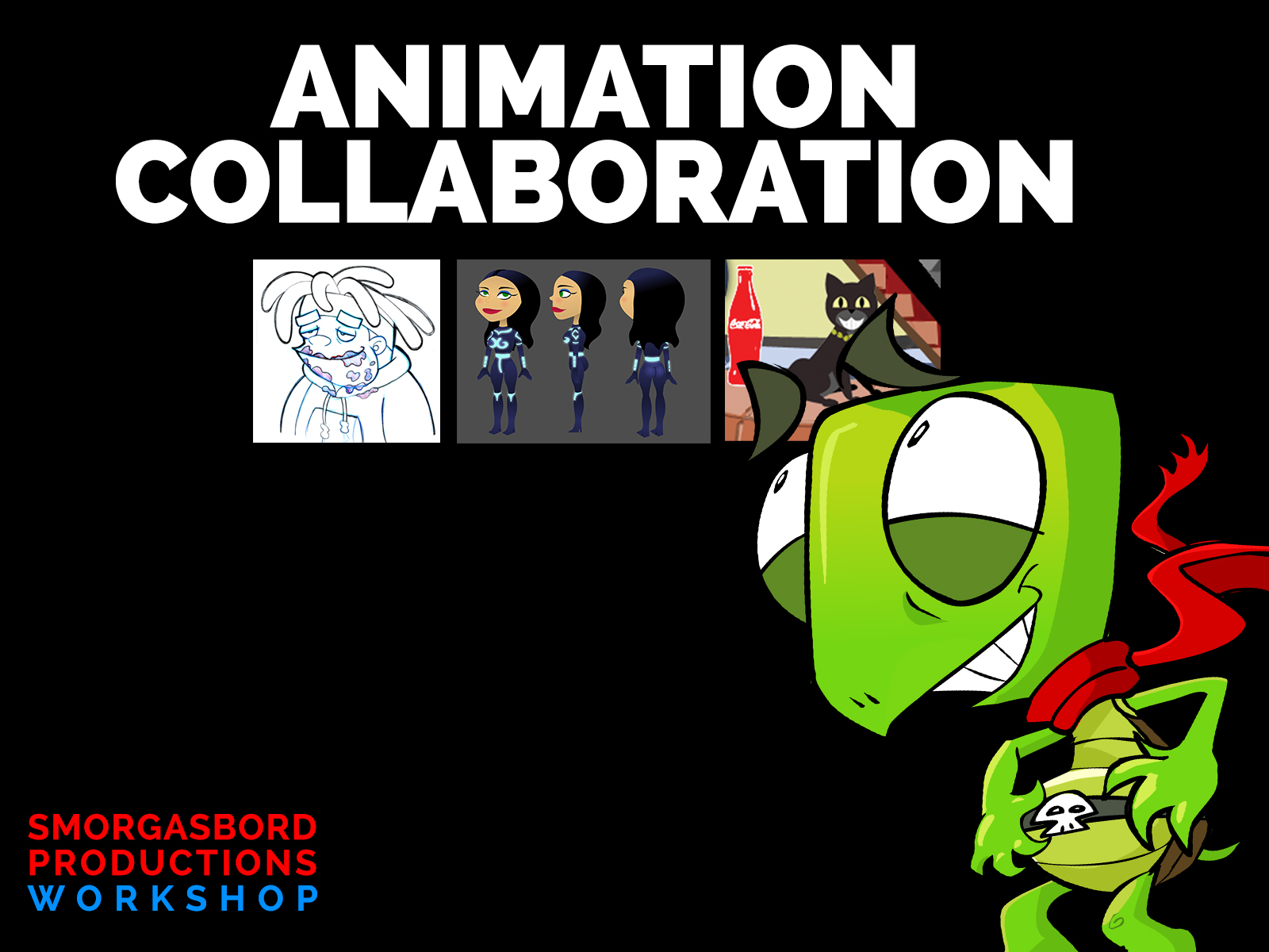 Come Join Us For FREE OPEN HOUSE Trial Art/Animation Class.