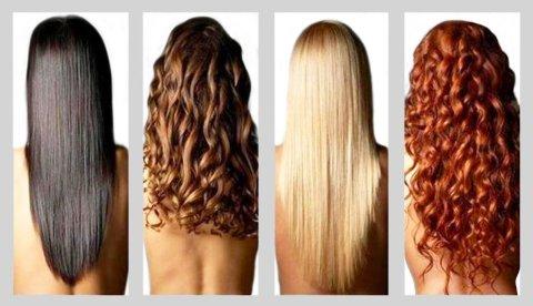 волосы девушек