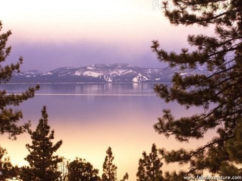 Lake Tahoe at Twilight, Nevada