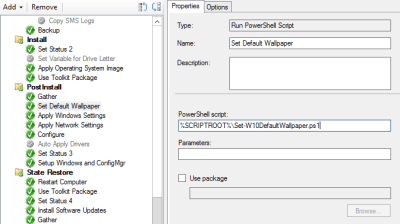 Setting the Default Wallpaper for Windows 10 during ConfigMgr OSD – smsagent