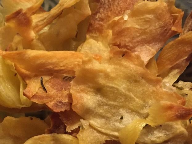 Chips Süßkartoffel
