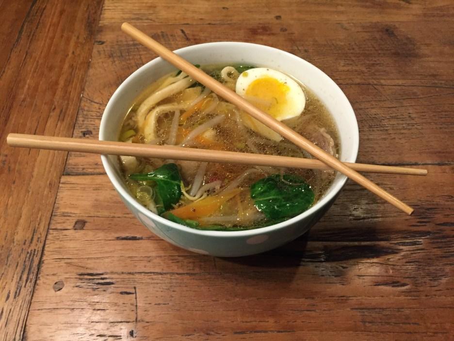 Leckere Ramen Suppe