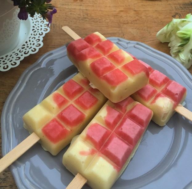 Rezept Rhabarber Vanille Eis
