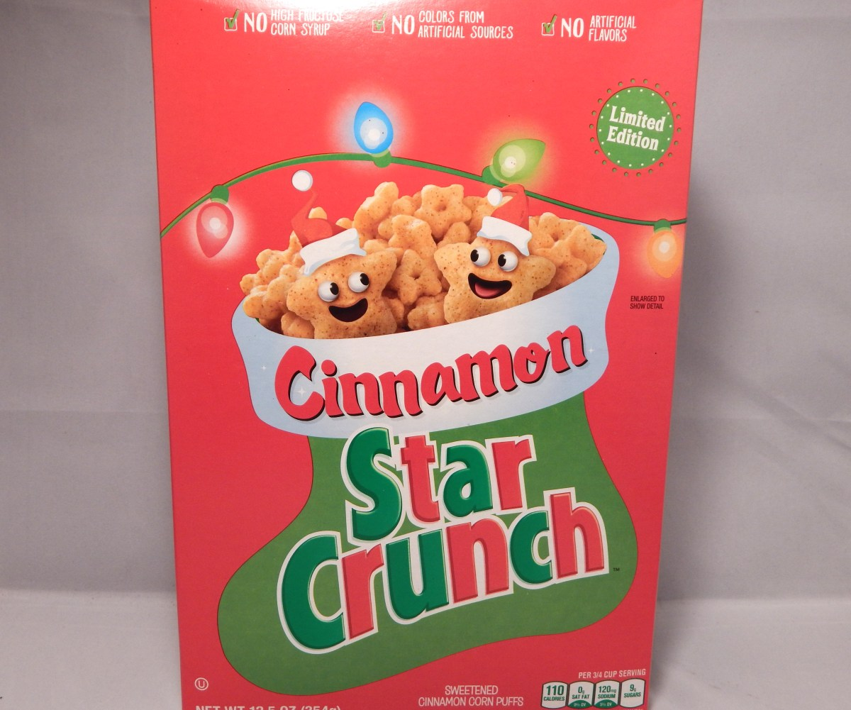 [Review] General Mills Limited Edition Cinnamon Star Crunch
