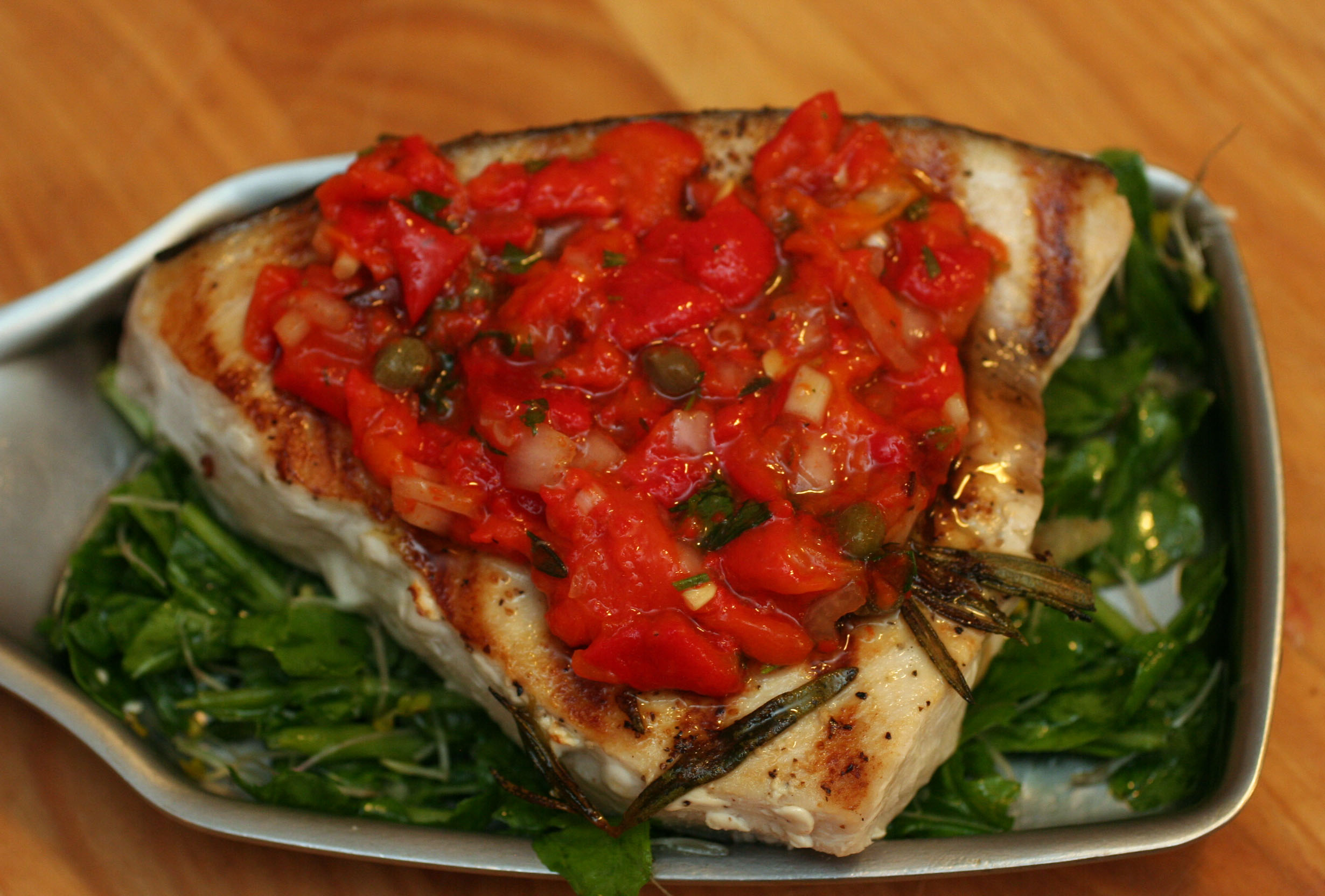 Mind Quick Swordfish Roasted Red Pepper Caper Relish Snacko Backo Baked Swordfish Recipes Epicurious Breaded Baked Swordfish Recipes nice food Baked Swordfish Recipes