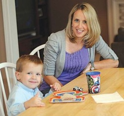 Lisa Rutter and Son Evan