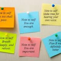 FREE Encouragement Sticky Notes